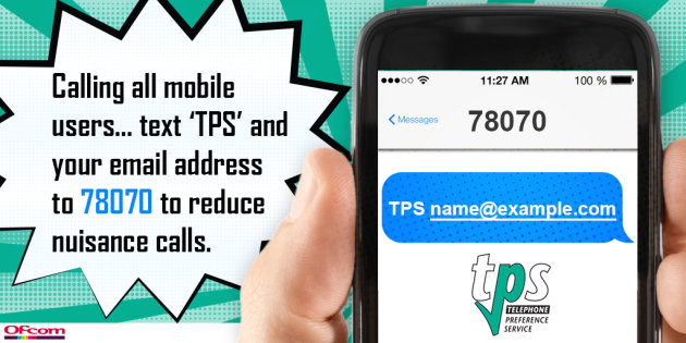 Pro tip: Text TPS to get on the 'do not call' database | Mobile Fun Blog
